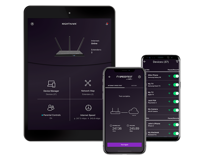 Netgear router setup using nighthawk app